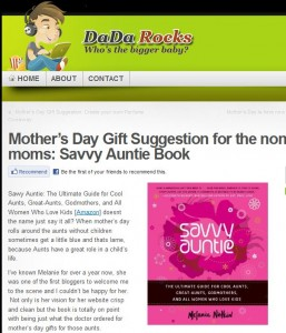 DadaRocks_Savvy Auntie