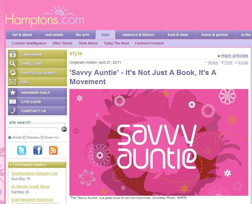Hamptons_Savvy Auntie