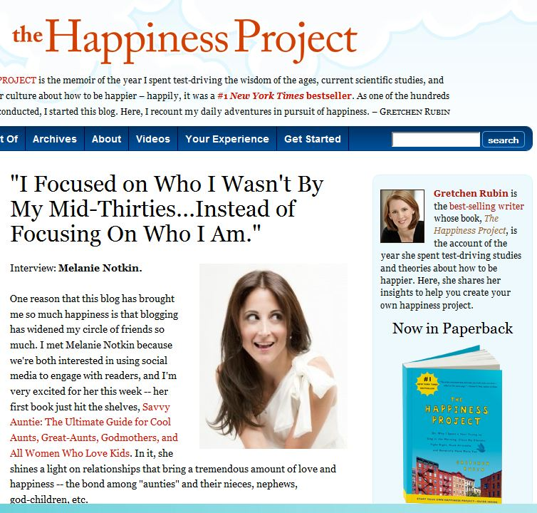 The Happiness Project_Savvy Auntie
