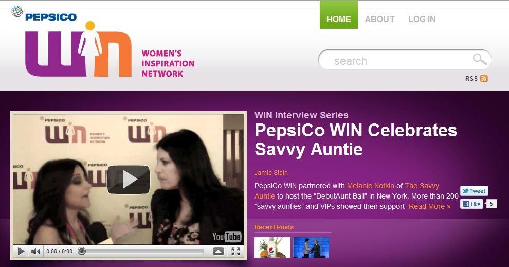 PepsiCoWIN_Savvy Auntie