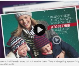 ABC 13 Houston: Holiday advertisers targeting professional aunts