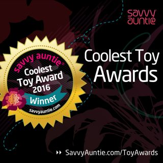 Savvy Auntie Coolest Toy Awards  – 2016