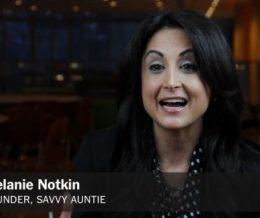 New! Melanie Notkin Speaker Reel