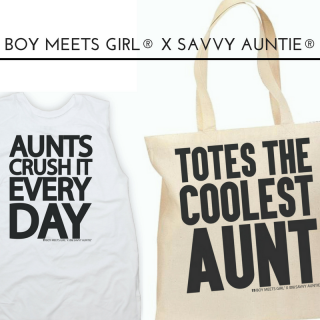 Boy Meets Girl® x Savvy Auntie® Collab Is Back!