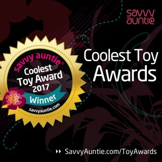 2017 Savvy Auntie Coolest Toy Award Winners!