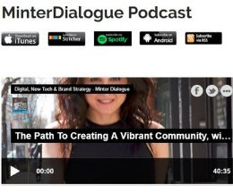 PODCAST: Minter Dialogue – The Path To Creating A Vibrant Community, with Melanie Notkin, Savvy Auntie and the PANKs