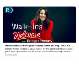 "PODCAST: Guest on ""Walk-Ins Welcome w/ Bridget Phetasy"""