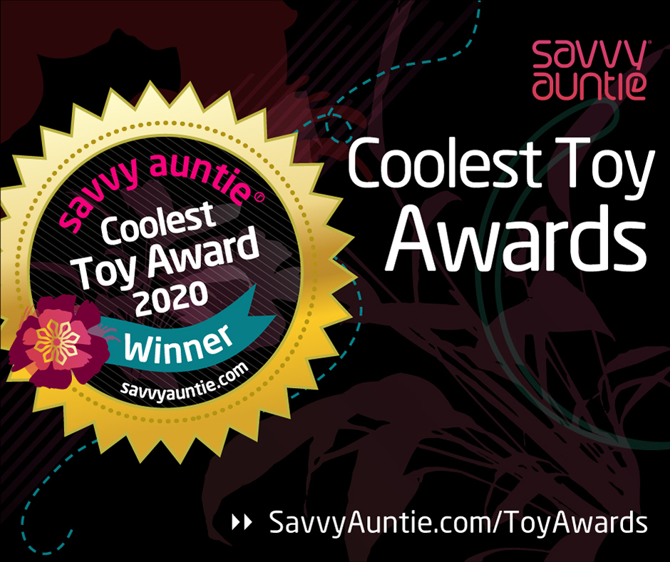 Savvy Auntie Coolest Toy Awards 2020