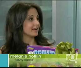 Melanie Notkin on TV