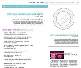 Melanie Notkin is a Stiletto Woman Magazine 2012 Best Business Micro Brand