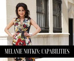 Melanie Notkin: Capabilities